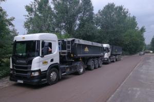 transport do Warszawy z kopalni piasku Płońsk