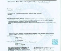 certyfikat PZH dla piasku do piaskownic ze Żwirowni Skarboszewo